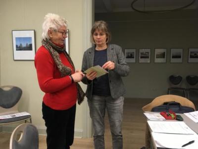 Foto zur Meldung: Vorsitzende des Ortsbeirats überreicht Spende
