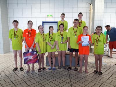 Jugend trainiert für Olympia - Regionalfinale Schwimmen