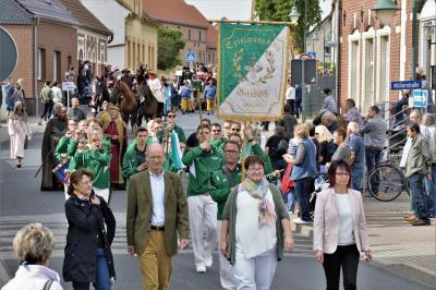 Festumzug zur 875-Jahrfeier - Höhepunkt im Vereinsleben 2019
