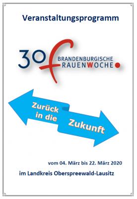 """Foto zur Meldung: """"Zurück in die Zukunft"""" - Die Brandenburgische Frauenwoche in OSL startet"""