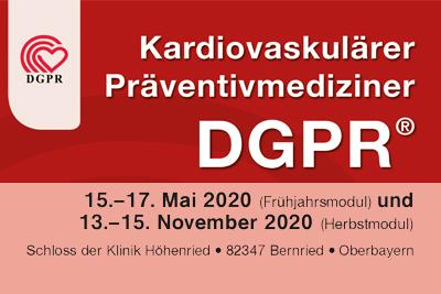 Kardiovaskulärer Präventivmediziner der DGPR