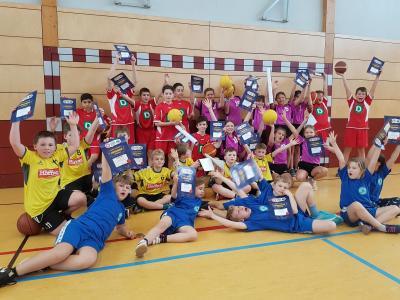 Foto zur Meldung: MBS Basketball Schulcup 2020 Vorrunde