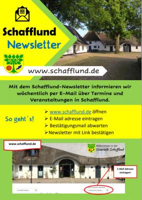 Foto zur Meldung: Vorteile des Schafflund-Newsletter