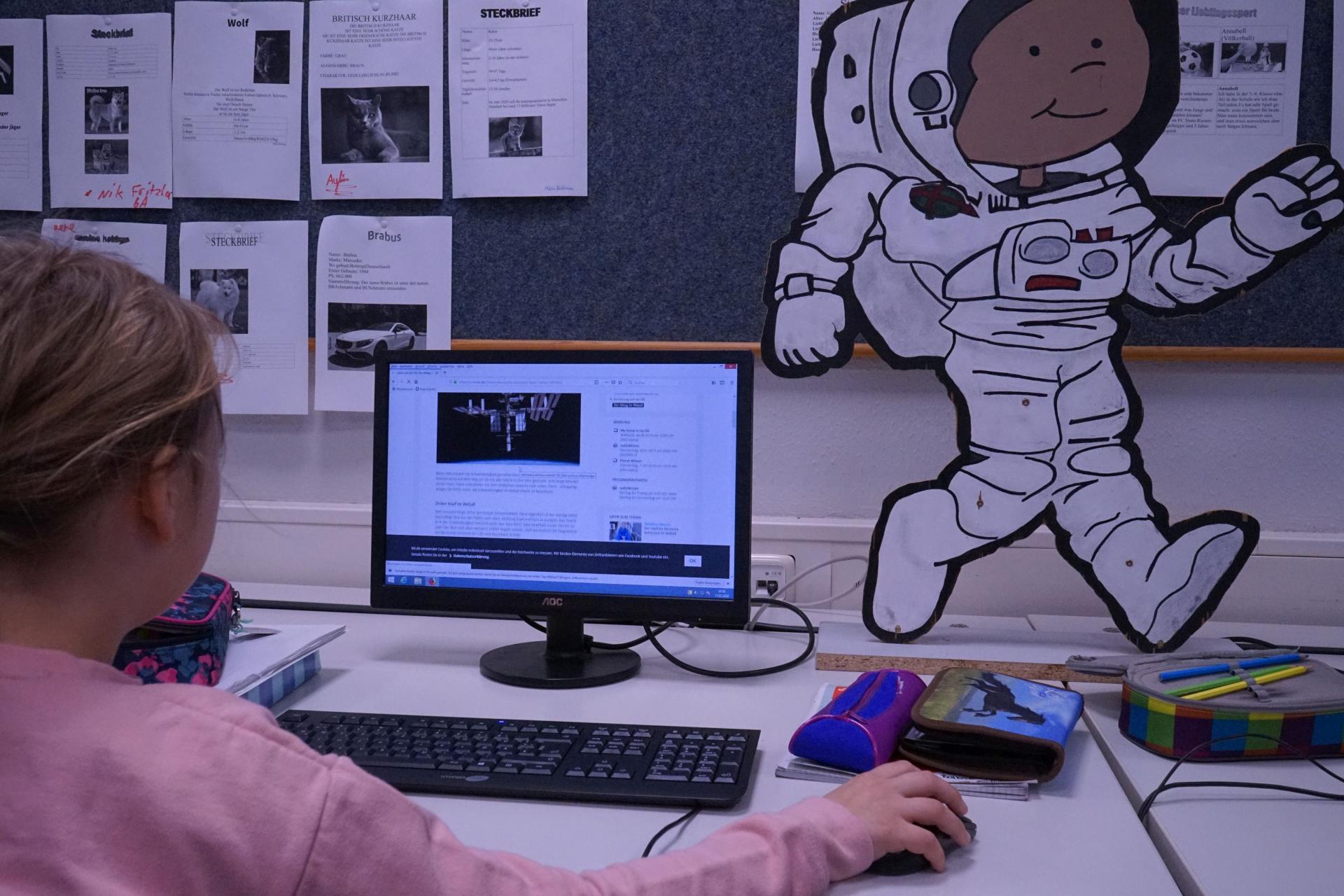 Bild der Meldung: Ankunft auf der Raumstation