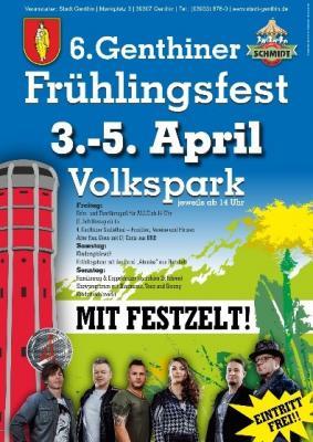 Foto zu Meldung: 6. Genthiner Frühlingsfest lädt Groß und Klein ein