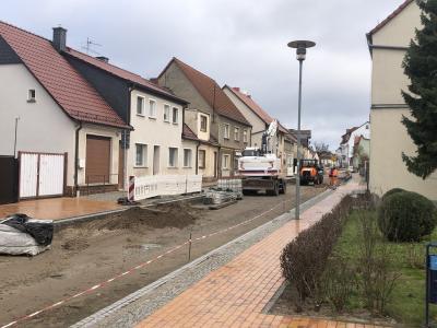 Foto zur Meldung: Weiterer Bauablauf für Lehniner Ortsdurchfahrt