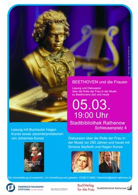 Lesung in der Rathenower Stadtbibliothek