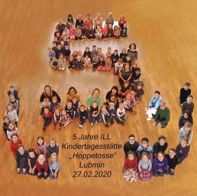 Vorschaubild zur Meldung: 5 Jahre ILL KITA Hoppetosse
