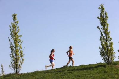 Vorschaubild zur Meldung: Laufen im Frühjahr - Mit neuem Schwung in die Saison