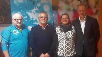 Foto zur Meldung: Sportclub Laage startet mit neuem Vorstand in die Zukunft