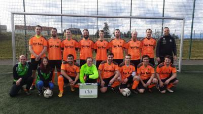 Foto zur Meldung: Fußball - Freundschaftspiel SV Linda gegen SV Halsbrücke