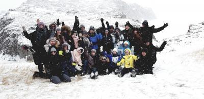 Vorschaubild zur Meldung: Schüler-Grüße vom Baikal-See