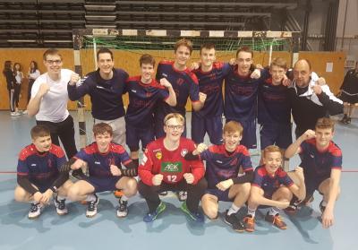 Vorschaubild zur Meldung: Handballer erreichen zum 4. Mal in Folge das Bundesfinale in Berlin