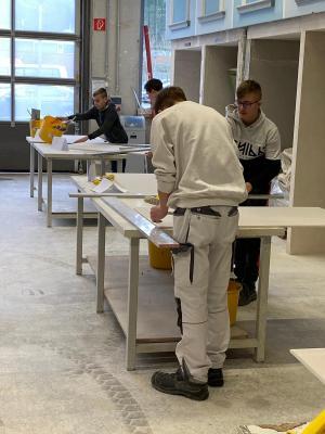 Vorschaubild zur Meldung: Berufsorientierung in der Handwerkskammer