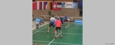 Anton bei den German U17 Open