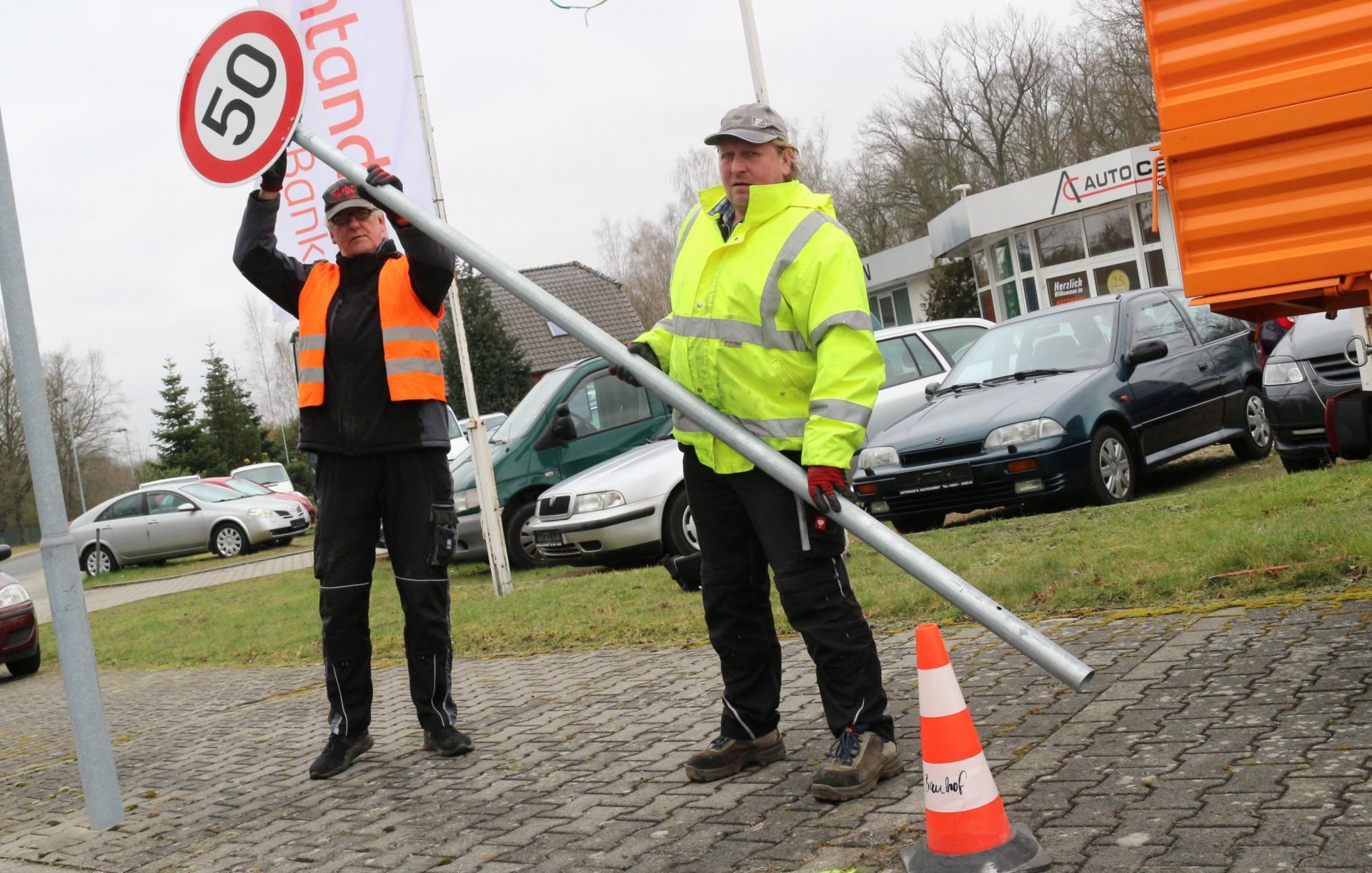 Bild der Meldung: Tempo 50 für mehr Sicherheit am Lok-Sportplatz