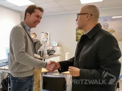 Foto zur Meldung: Allianzvertretung Pritzwalk ist umgezogen