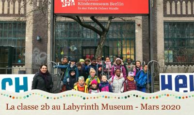 Klasse 2b im Labyrinth-Kindermuseum