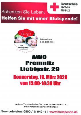 Foto zur Meldung: Blutspende in Premnitz