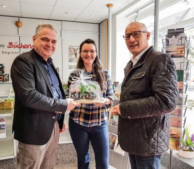Foto zur Meldung: Buchhandlung in Pritzwalk wieder eröffnet