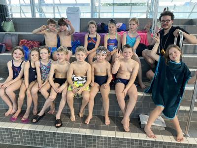 Foto zur Meldung: Schwimmwettbewerb Wuppertaler Grundschulen