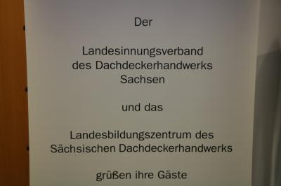 Foto zur Meldung: Dachtag des Landesinnungsverbandes der Dachdecker in Sachsen