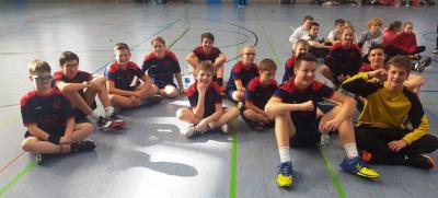 Vorschaubild zur Meldung: Jüngste Handballer ziehen ins Landesfinale ein