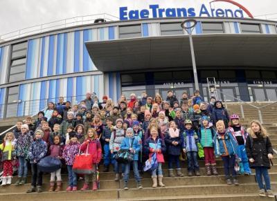 Unser Ausflug in die Eishalle