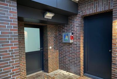 Bild der Meldung: Ein neuer AED in Grabstede