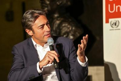 Gender Champion Francesco Pisano, Director of the UN Library & Archives Geneva