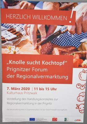 Foto zur Meldung: Prignitzer Forum der Regionalvermarktung