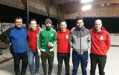 Die Finalisten des DPV-Masters Viernheim 2020
