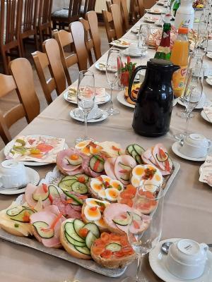 Foto zur Meldung: Frauentagsfrühstück 2.0