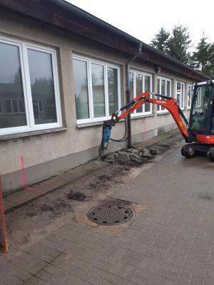 Foto zur Meldung: Bauarbeiten haben begonnen