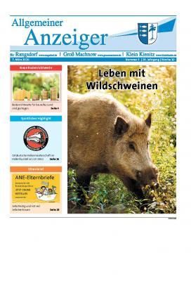 Foto zur Meldung: 3. Ausgabe des Allgemeinen Anzeiger erschienen