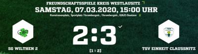 [SGW 2] Starkes Spiel gegen den Dritten der KL Osterzgebirge