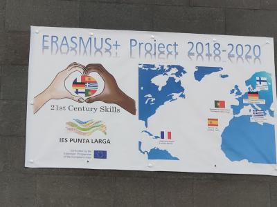 Foto zur Meldung: Dank Erasmus+ Sommer in den Winterferien - Teneriffa 2020