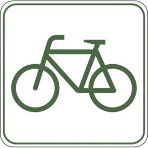 Neue Radwegbeschilderung in der Gemeinde