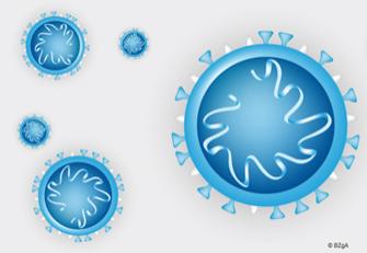Schmuckbild zum neuartigen CORONA-Virus
