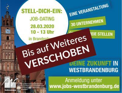 Fachkräfte-Kampagne: Job-Dating ... Stell-Dich-Ein wird verschoben