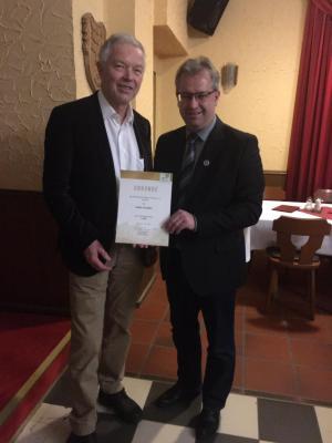 Foto zur Meldung: Stadt Creußen erhält Goldenes Ehrenzeichen des Bund Naturschutz