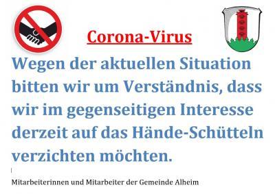 Vorschaubild zur Meldung: Corona-Virus – wie verhalte ich mich richtig?