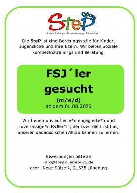 Vorschaubild zur Meldung: FSJ gesucht ab 01.08.2020