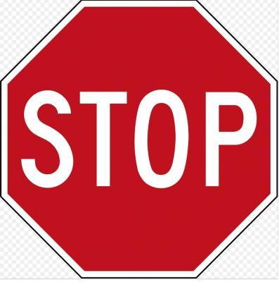 Trainings-Stop