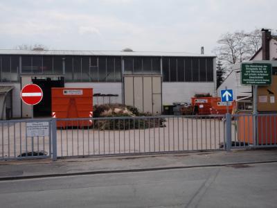 Foto zur Meldung: Recyclinghof in der Alten Mainzer Straße ab 19.03. bis auf weiteres geschlossen