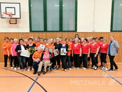 """Foto zur Meldung: """"Sportgruppe Siedlung Pritzwalk"""" feierte ihr 40-jähriges Bestehen"""