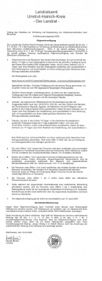 Vorschaubild zur Meldung: Landratsamt Unstrut-Hainich-Kreis verschärft Regelungen für Urlauber aus In- und Ausland