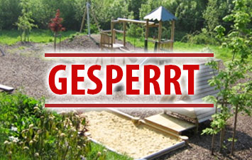 Bild der Meldung: Sperrung Spielplatz / Sportplatz