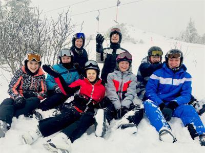 Ein weiterer Tag im Schnee ...
