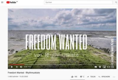 Foto zur Meldung: Freedom Wanted - ein Musikprojekt für mehr Zusammenhalt